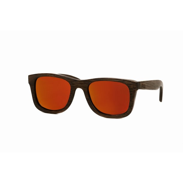 Wayfarer - Murielo Orange Mirror