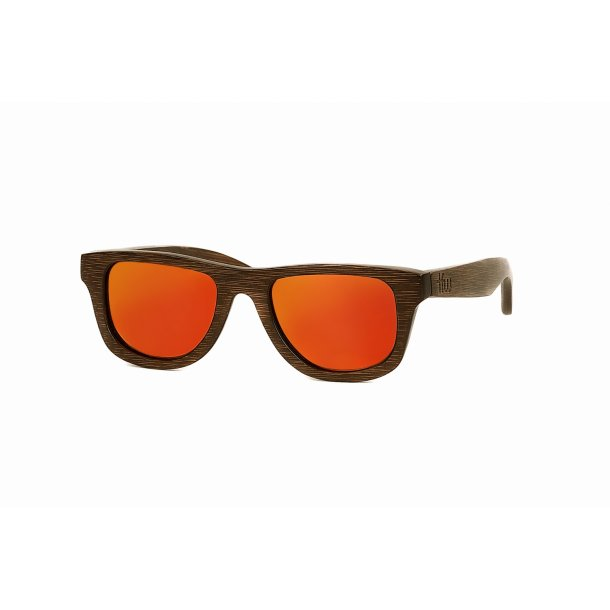 Wayfarer - Murielo Orange Mirror Small